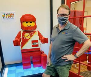 Spencer Crandall of Portland's Bricks & Minifigs