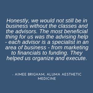 Aimee Brigham quote