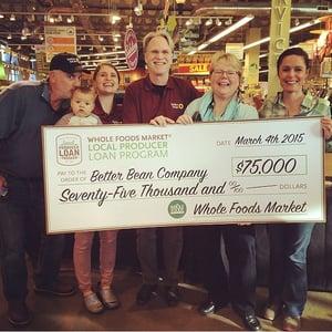 Better Bean Wins Whole Foods Award 2009
