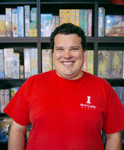 Matthew Micetic - owner of Red Castle Games in Portland, OR