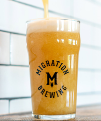 Migration Beer pint