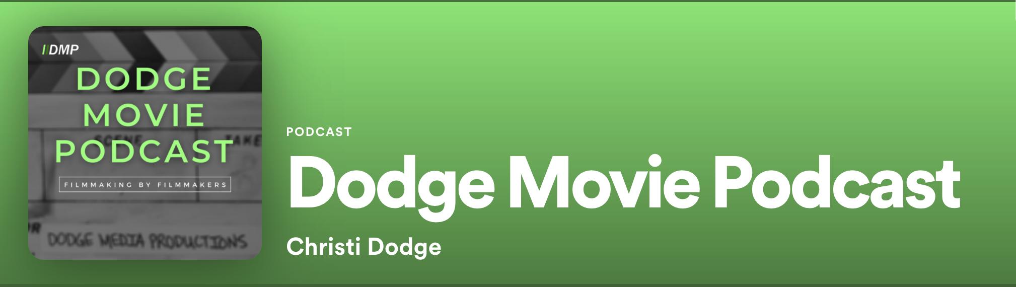Dodge Movie Podcast trailer link