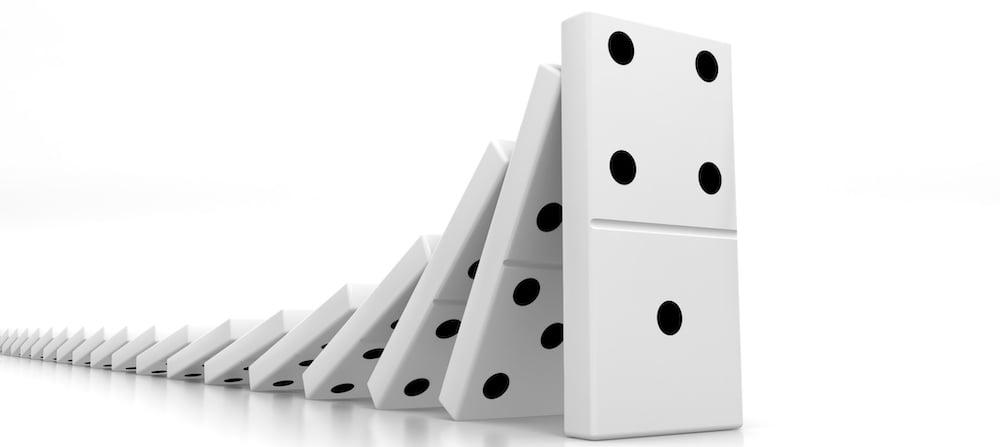 lead domino