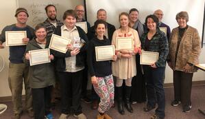 Small Business Class Participants 2018